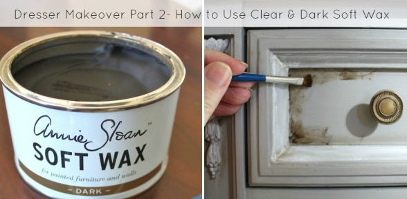 How to Use Annie Sloan Soft Wax- slide