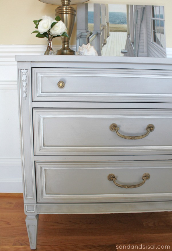 Chalk Paint 174 Dresser Makeover Part 1 Sand And Sisal