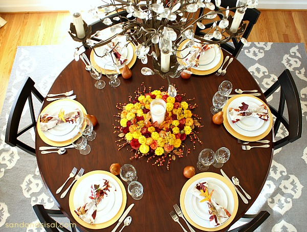 Thanksgiving Tablescape #PFdecorates