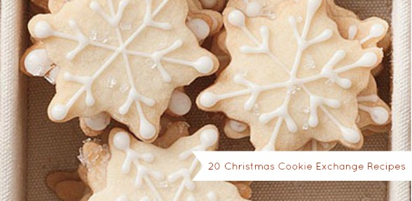 20 Christmas Cookie Exchange Recipes