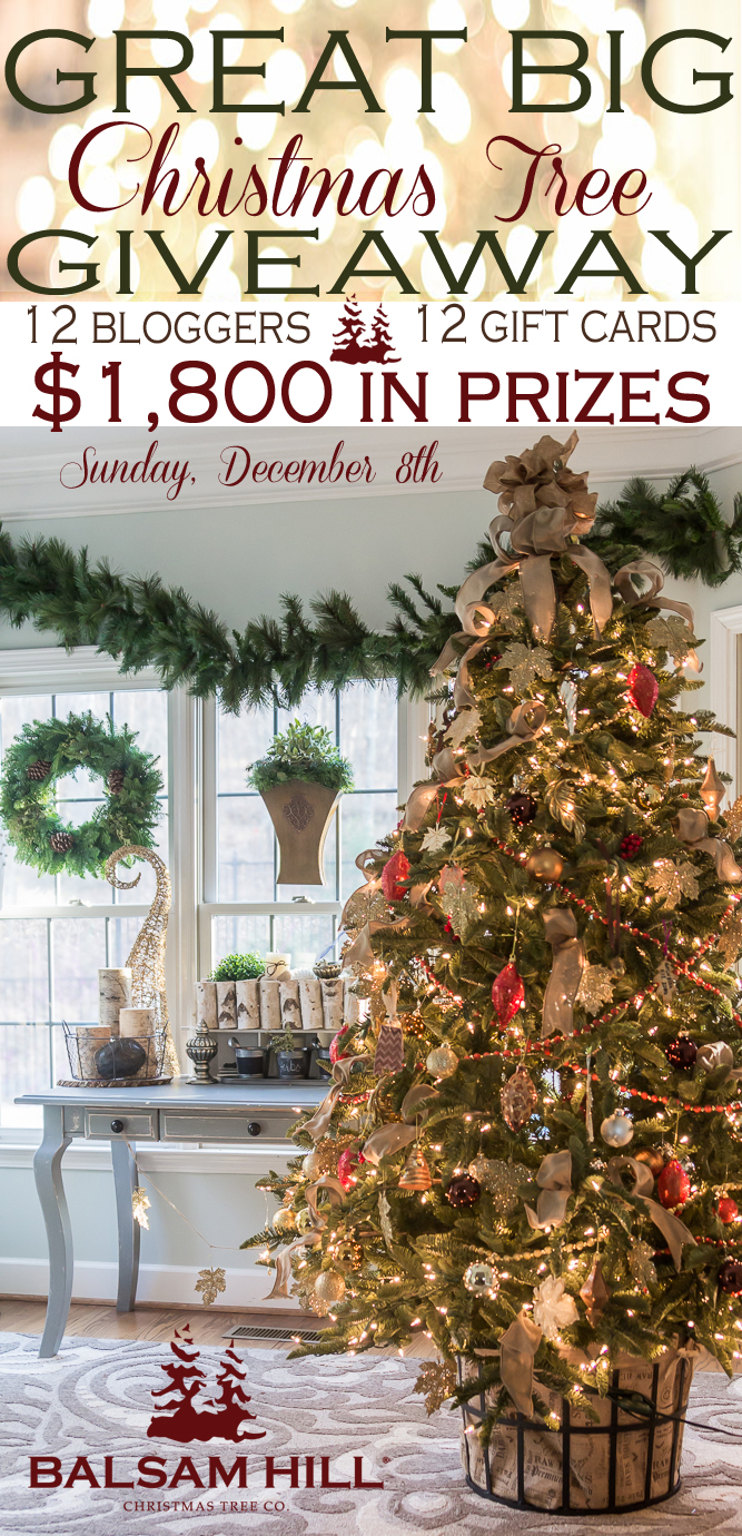 Balsam Hill Christmas Tree Giveaway (1)