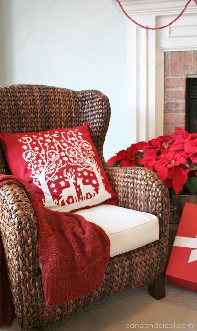Christmas Peace Pillow