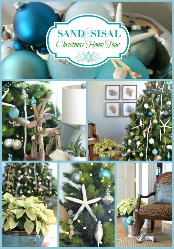 Coastal Christmas Home Tour