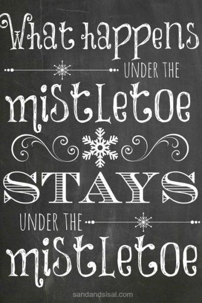 mistletoe-chalkboard-printable