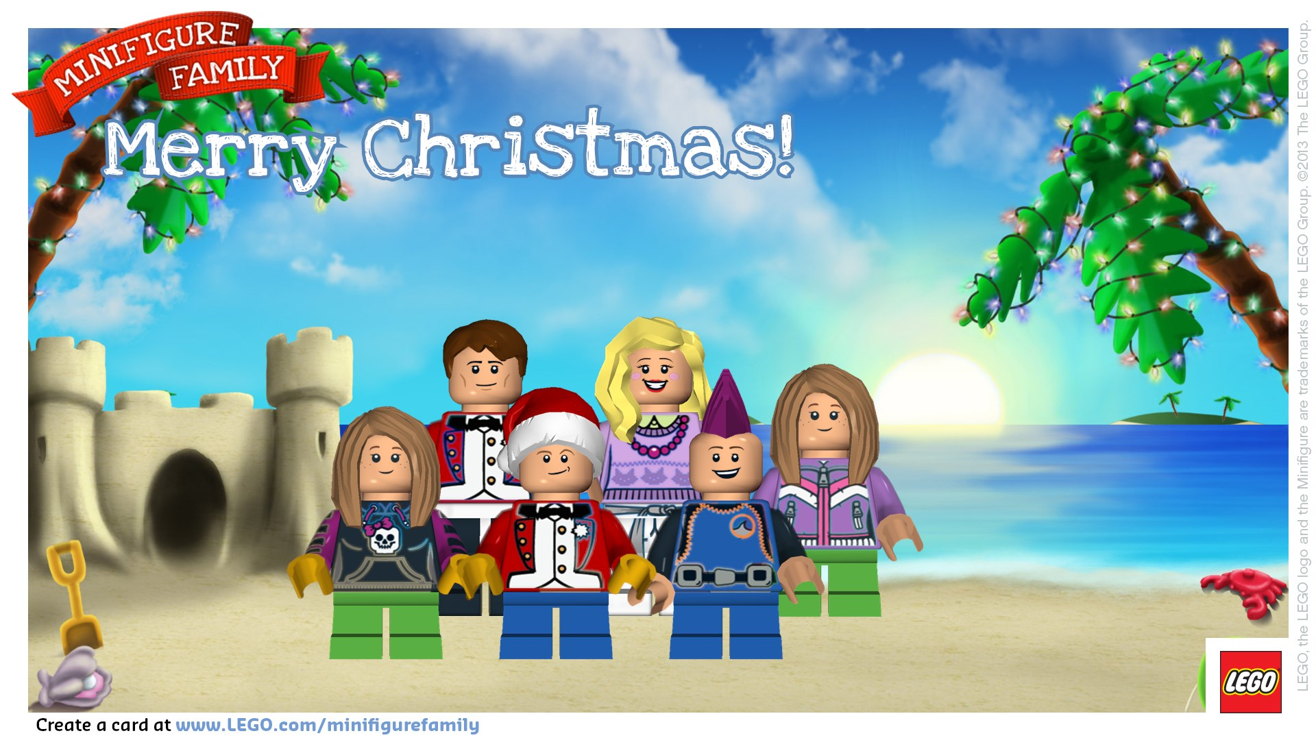 A Very Merry Lego Christmas