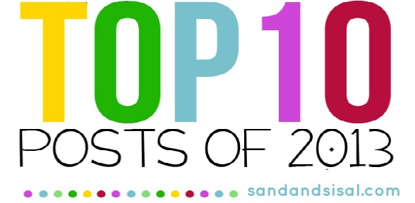 sandandsisal.com top ten posts blog hop