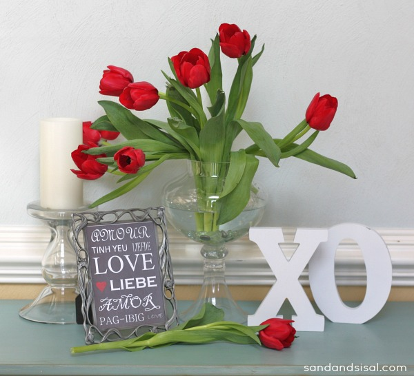 Valentine's Printable- Multilingual Love
