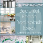 10 Beautiful Beach Backsplash Ideas