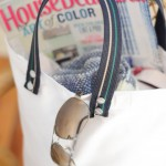 DIY Market Tote, Belt strap tote, Recycled belts, Iron & Twine (2)