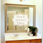 How to Frame a Mirror - DIY
