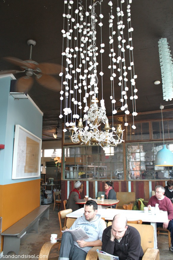 Marshmallow Chandelier - Back in the Day Bakery