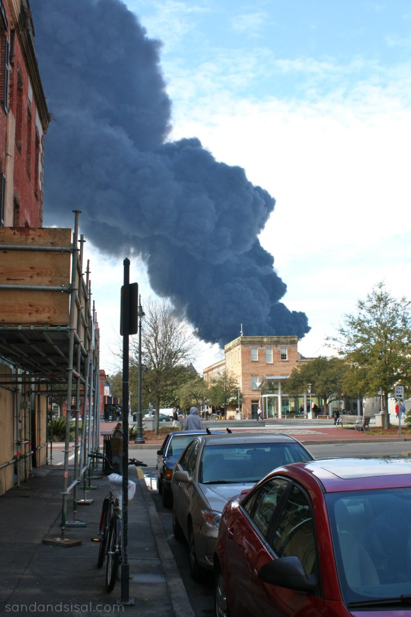 Savannah Factory Fire