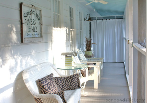Screened Inn front porch