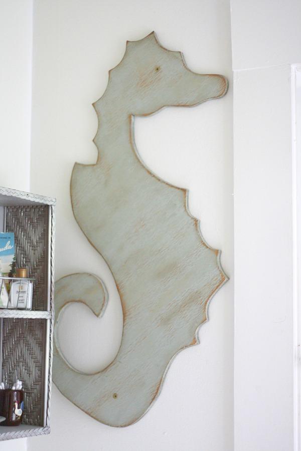 Sea Horse Wall Hanging