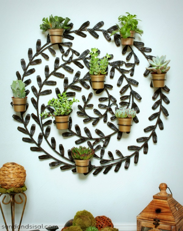 Succulent Wall Hanging 2