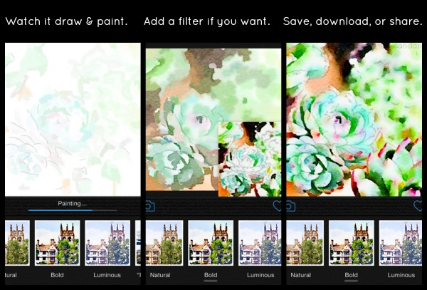 Waterlogue App preview