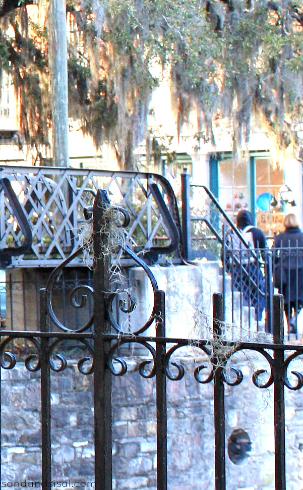 Wrought Iron and Spanish Moss
