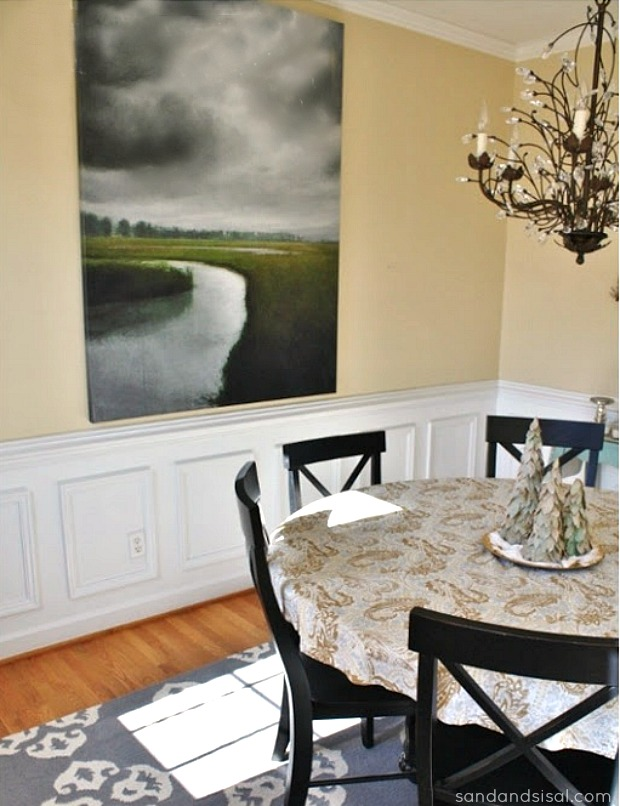 5 Ways to Fill a Blank Wall - Storm Over the Marsh Glicee