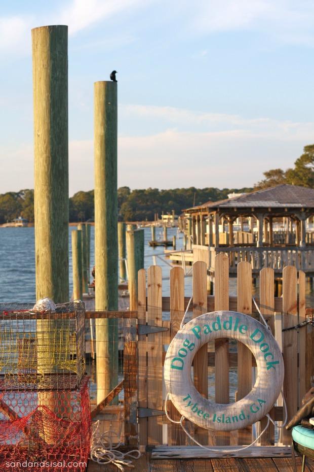 Dog Paddle Dock Tybee Island