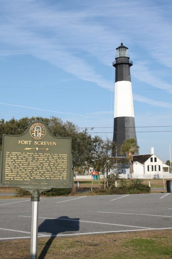 Fort Screven Lighthouse