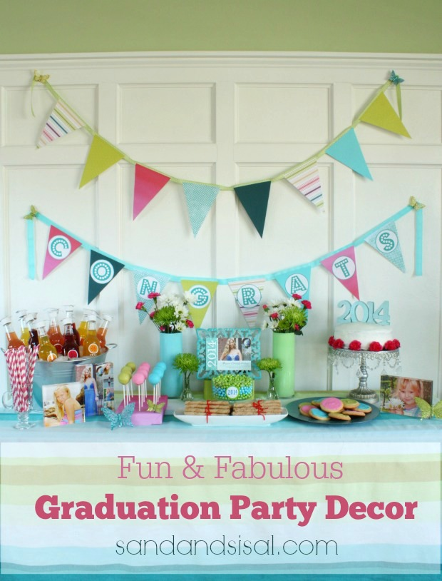 Fun and Fabulous Graduation Party Decor