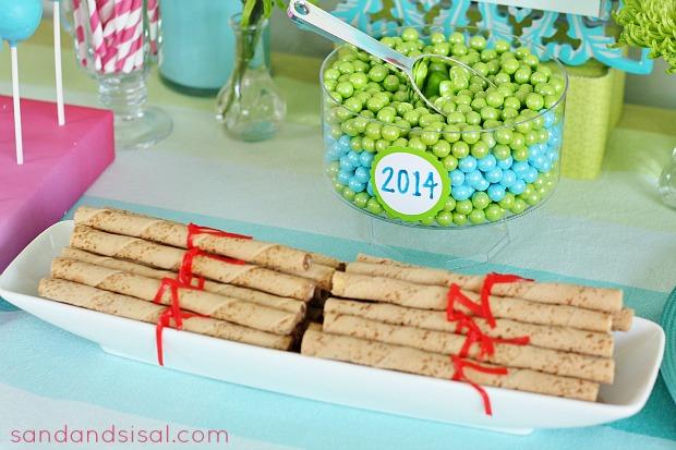 Graduation Diploma Cookies