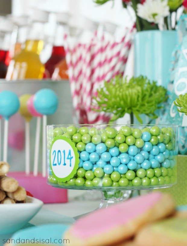 Graduation Party Ideas - Sand and Sisal