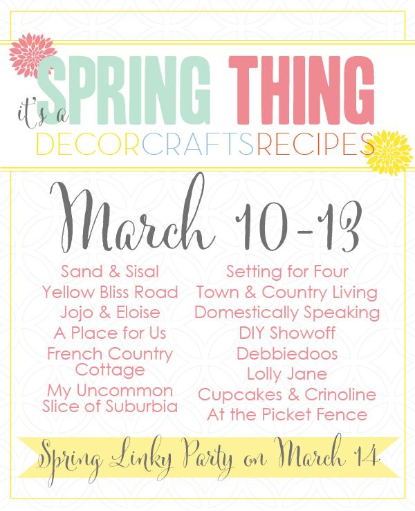 Spring Thing Blog Hop