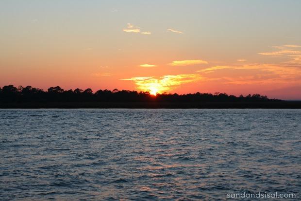 Sunset Tybee Island