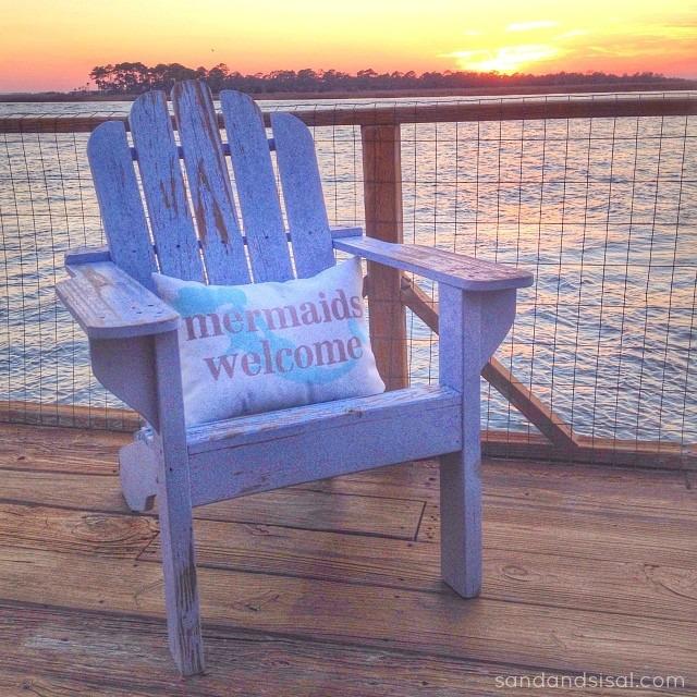 Tybee Island Sunset - Mermaids Welcome