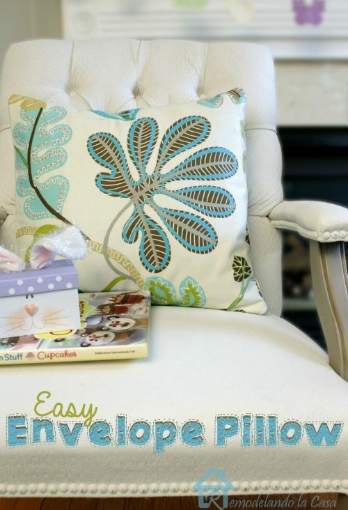Easy Spring Envelope Pillow