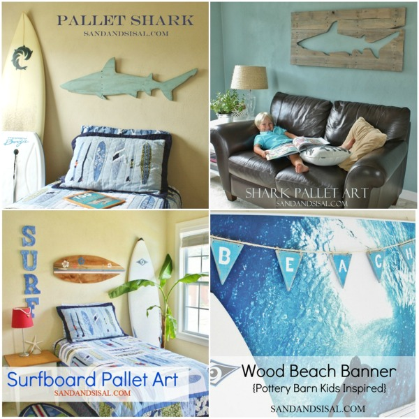 Pallet Art Projects by Sand & Sisal