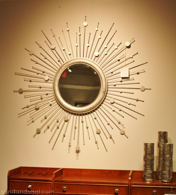 Sunburst Mirror from Havertys