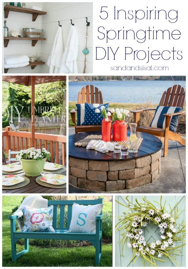 5 Inspiring Springtime DIY Projects
