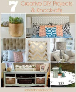7 Creative DIY Projects & Knockoffs