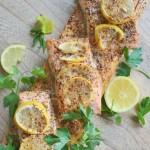 Cedar Plank Baked Salmon 2
