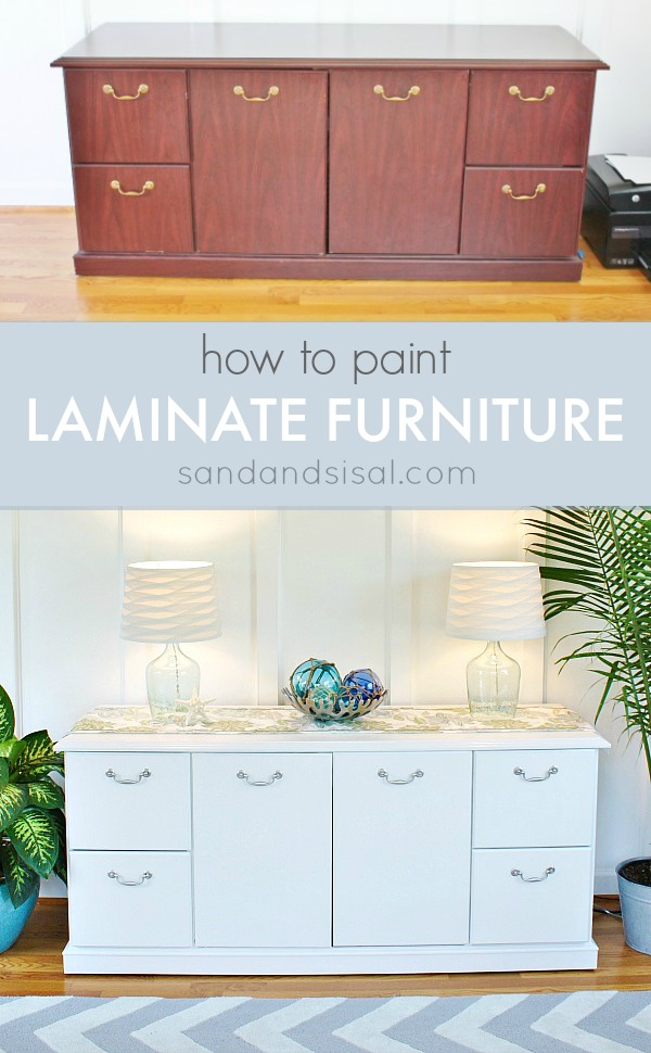 How To Sand Primer And Paint Wood Furniture
