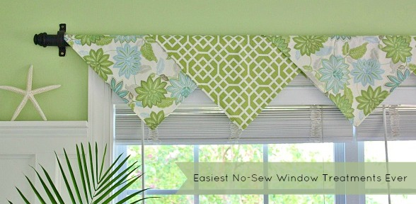 The Easiest No-Sew Window Treatments Ever- slide