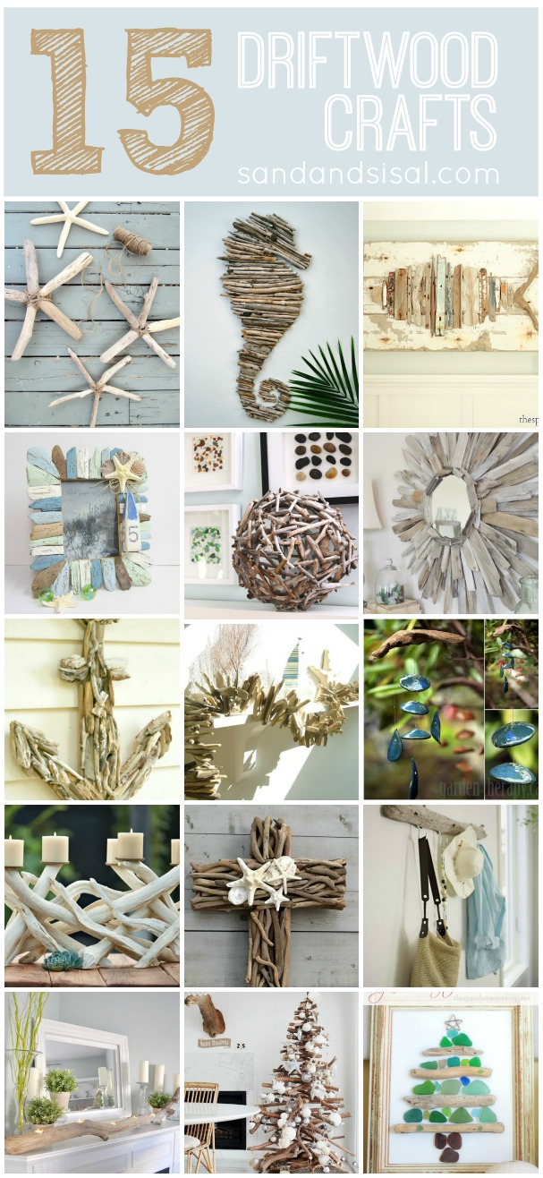Wood works on pinterest driftwood art tree carving and for Driftwood crafts to make