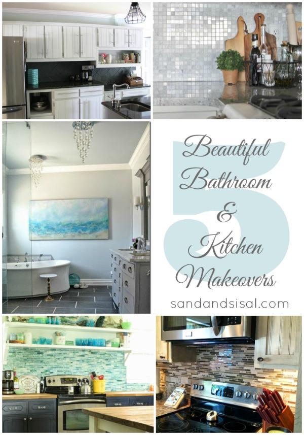 Amazing Bathroom & Kitchen Makeovers 5 beautiful bathroom + kitchen makeovers - page 5 of 7 - sand and