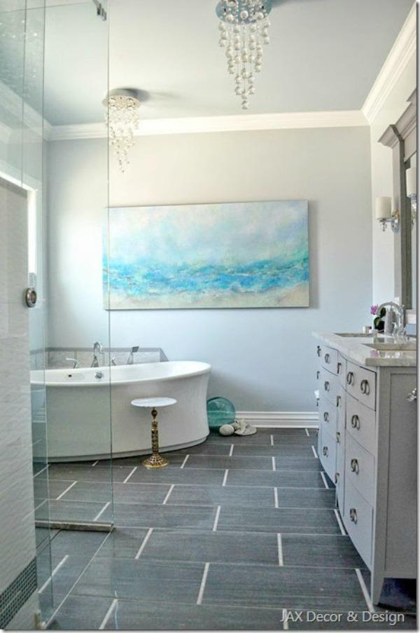 5 Beautiful Bathroom Kitchen Makeovers Sand And Sisal