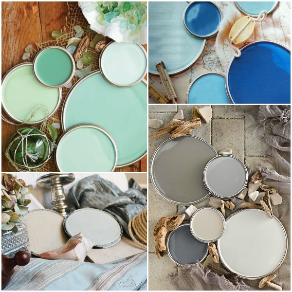 Home Decorating Color Palettes: How To Decorate Coastal (without Lookin' All