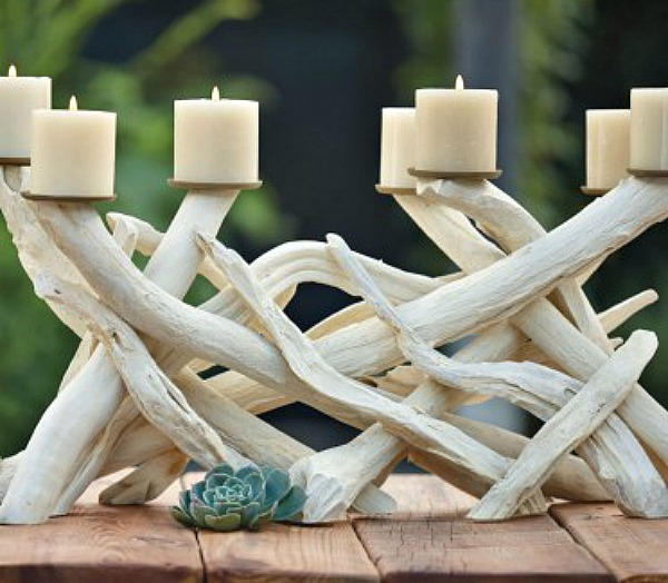 Pinterest Home Decor 2014: 15 Driftwood Crafts