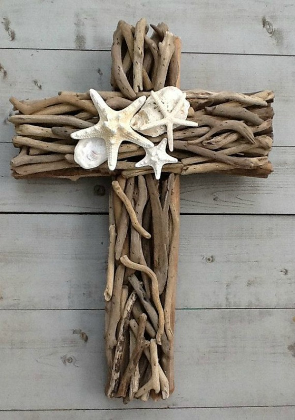 Driftwood Crafts on coastal home decor beach house