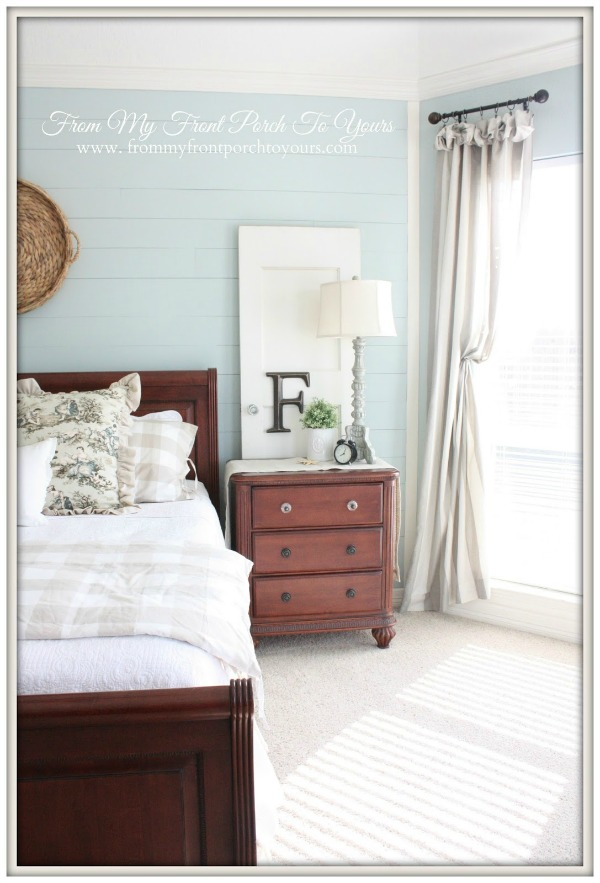 French Farmhouse Bedroom Makeover