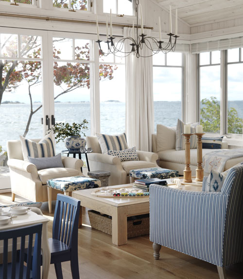 Pinterest Home Decor 2014: How To Decorate Coastal (without Lookin' All