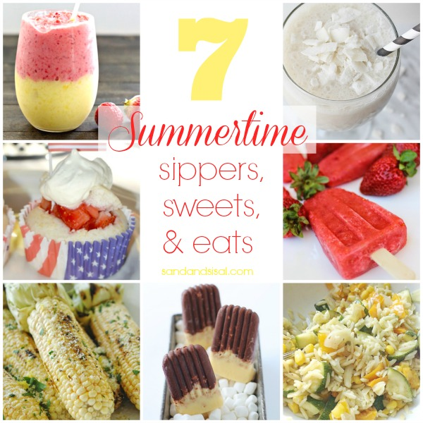7 Summertime Sippers, Sweets, and Eats