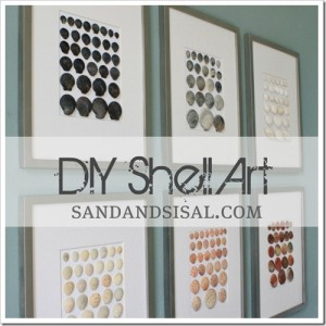 DIY Shell Art