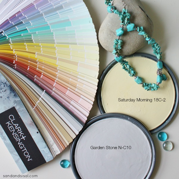 Gray, Yellow, Turquoise color palette #HelloBeautiful