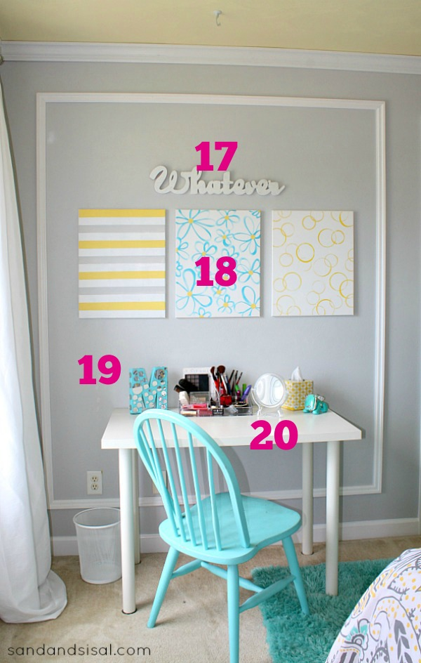 Teen Room Makeover - Source List